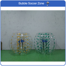 Free Shipping 1.2m TPU Inflatable Zorb Ball Loopy Ball Air Bumper Football Inflatable Bubble Soccer Body Football Bubble(China)