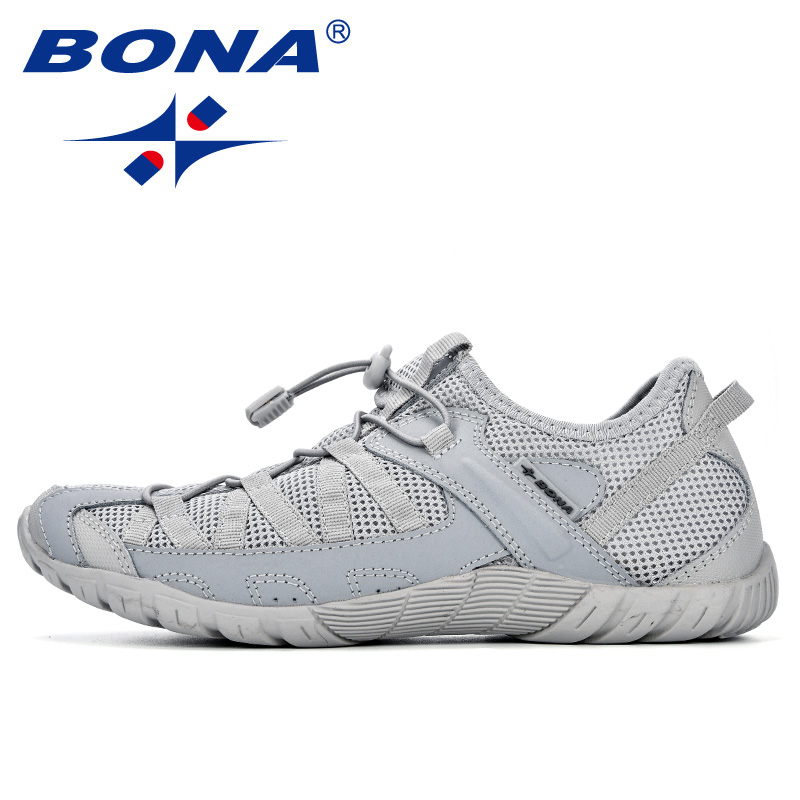 BONA Summer Sneakers Breathable Men Casual Shoes Fashion Men Shoes Tenis Masculino Adulto Sapato Masculino Men Leisure Shoe 6