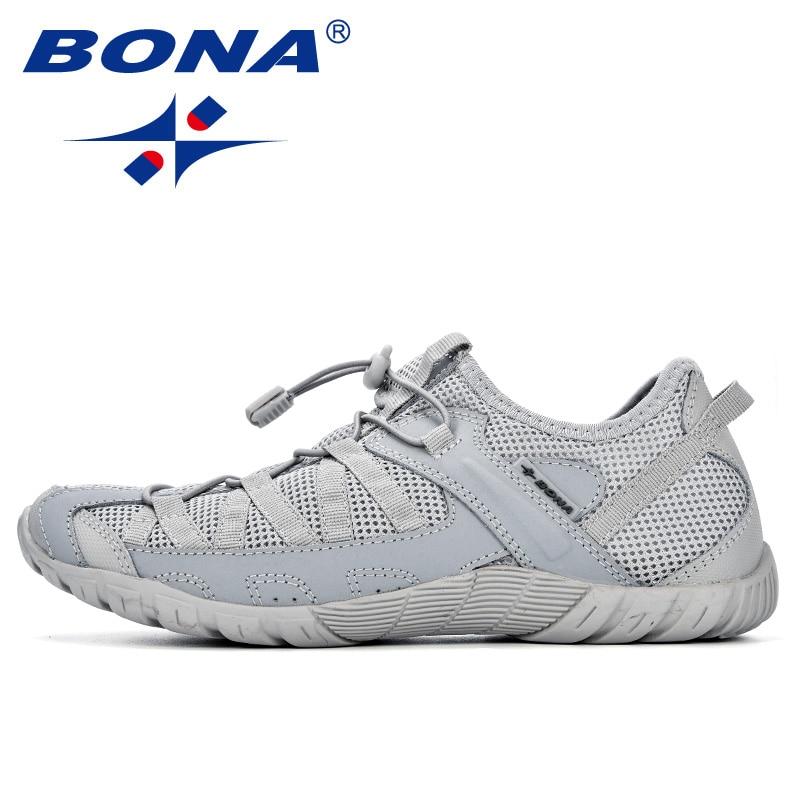 BONA Summer Sneakers Breathable Men Casual Shoes Fashion Men Shoes Tenis Masculino Adulto Sapato Masculino Men Leisure Shoe 5