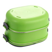 Insulated tableware Stainless Steel Food Storage Container Thermo Server Essentials Thermal Double Layer Green