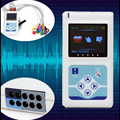 12 Channels Heart Rate TLC5000 24 Hours Holter portable ECG device with LCD Display  Monitoring EKG System Tester