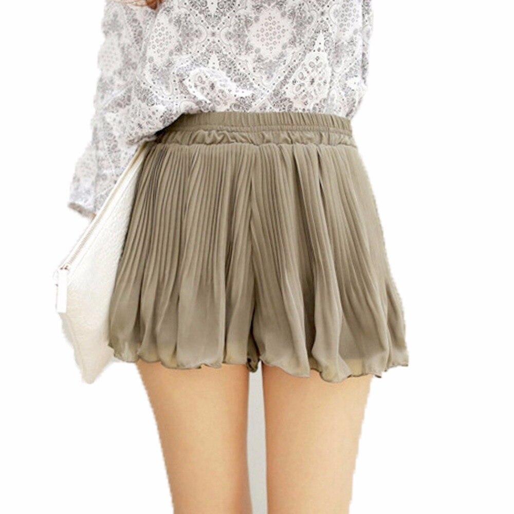 Summer Lolita Mini Adult Tulle Short Pleat Women Sun Skirts Black Chiffon Preppy Female Lady Femme Femininas Feminine Kilt 2016