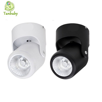 Tanbaby Dimmable 10W Led Ceiling Lights White Warm White COB Ceil Downlight Modern High Brightness Spot