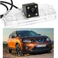 1 шт. CCD автомобиль обратное зад вида парковочная камера с лицензионным плита для Nissan X оптово-trail