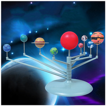 MrY Nine Planet Model Puzzle Assembled Solar System Planetary Instrument Children Science And Education DIY Toys Set Luminous E03