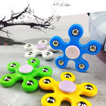 Super Beautiful In stock Fidget Toy Plastic EDC Hand Spinner For Autism and ADHD Anti Stress Focus Keep Hands Busy