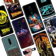 Back To The Future Black Soft Case for Oneplus 7 Pro 7 6T 6 Silicone TPU Phone Cases Cover Coque Shell
