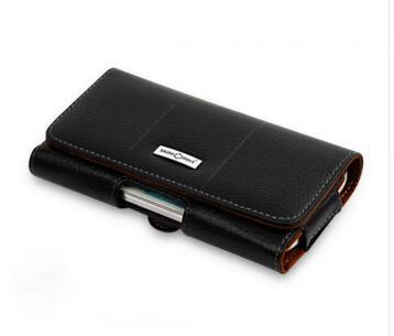 Retro Genuine Leather Waist Belt Clip Pouch Cover For Meizu PRO 7 Plus Nokia 6 5