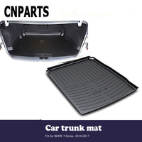 CNPARTS For BMW 5 Series F10 F11 F07 2010 2017 Car Styling Cargo Liner Rear Trunk Anti Slip Mat Pad Custom Boot Tray Waterproof