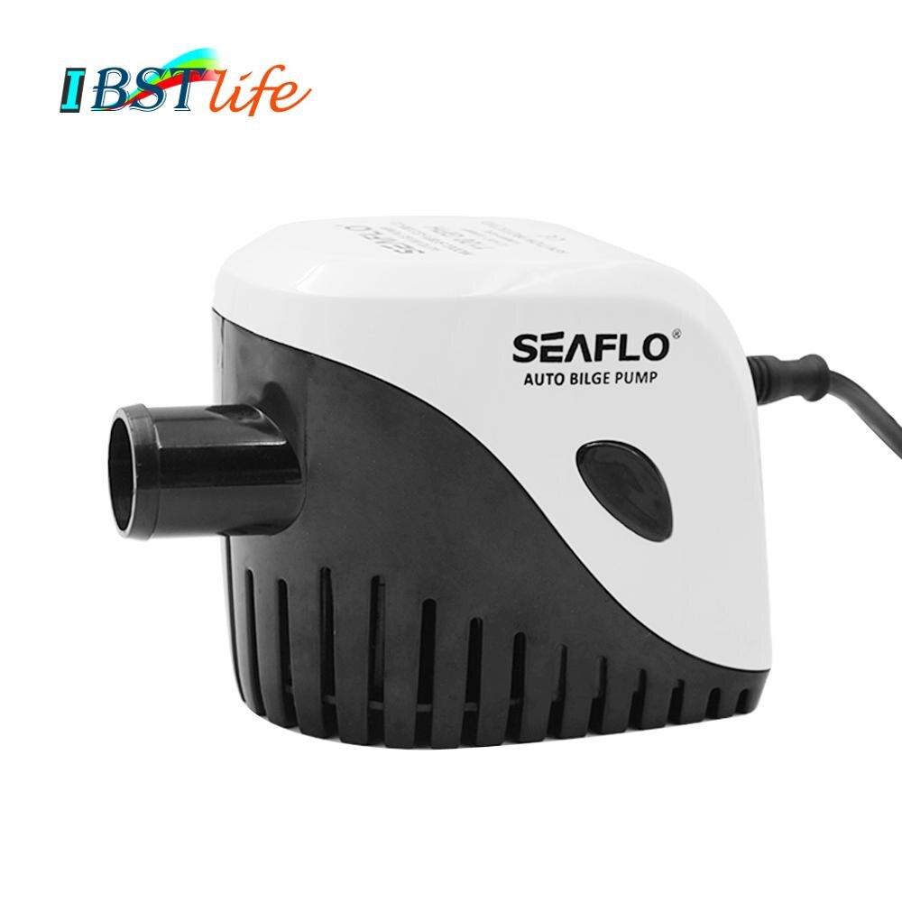 2019 nouvelle pompe à eau de cale de bateau Submersible automatique 12 v 750GPH Auto avec interrupteur à flotteur