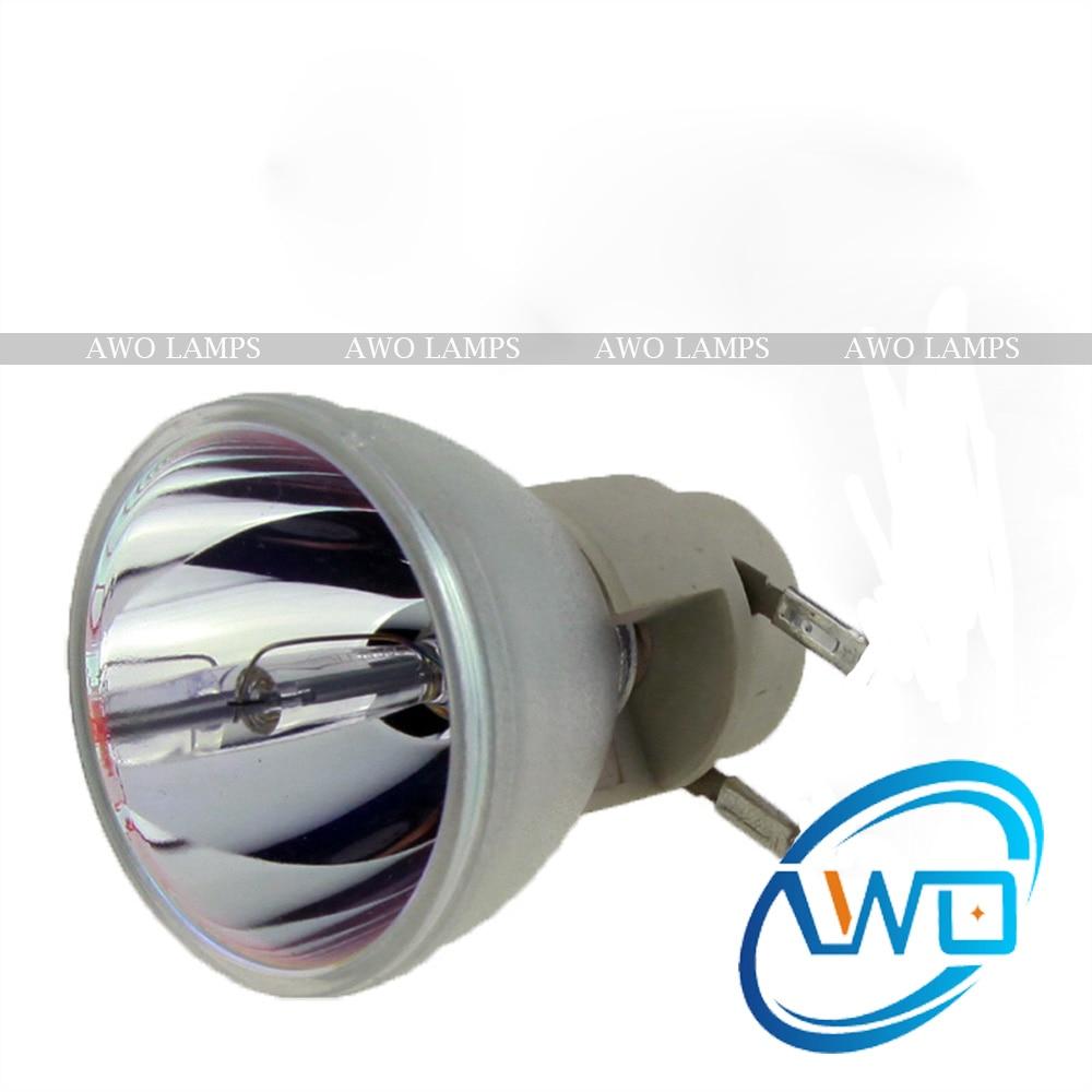 AWO Free Shipping EC.J9300.001 Compatible Lamp Bare Bulb for ACER P5281/P5290/P5390W free shipping ec jea00 001 compatible bare lamp for acer p1223 180day warranty
