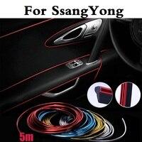 auto-flexible-interior-decoration-moulding-trim-strip-for-ssangyong-actyon-chairman-korando-kyron-musso-nomad-rexton-tivoli