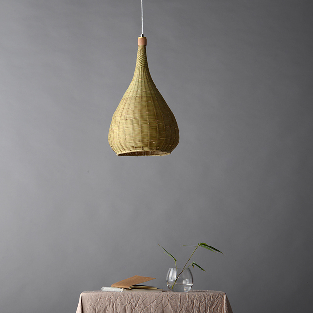 Rotin bambou lampes suspendues sud-est asiatique restaurant salon salon japonais authentique créatif cage lampes suspendues ZA