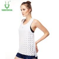 Mulheres Yoga Colete De Compressão Ginásio Quick Dry Correndo Esporte vest Camisetas Aptidão das Mulheres Colete Feminino Treino Tees tops