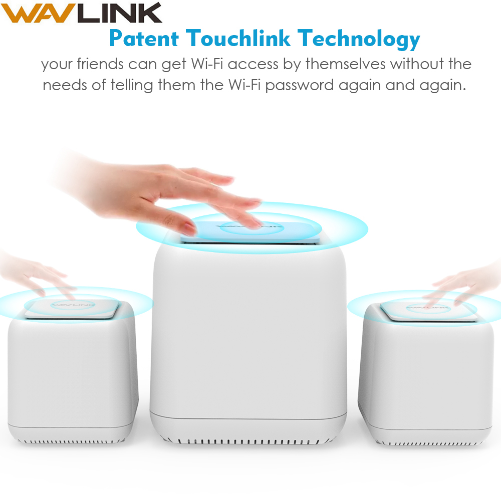Router Gigabit Repeater Smart-System Mesh Dual-Band 1200mbps Wi-Fi Whole-Home Wireless