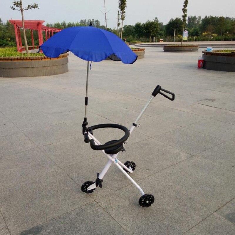 Bicicleta Infantil Nuovi Bambini Sneak Eva Artefatto Piegato Skate Che portatile Tre Turni Di Flash Carrello Della Bambola Per Un camminare