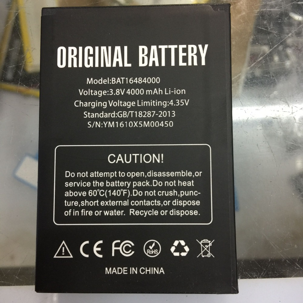 Jinsuli DOOGEE X5 MAX Battery Large Capacity 4000mAh Back up Battery Replacement For DOOGEE X5 MAX Pro Cellphone