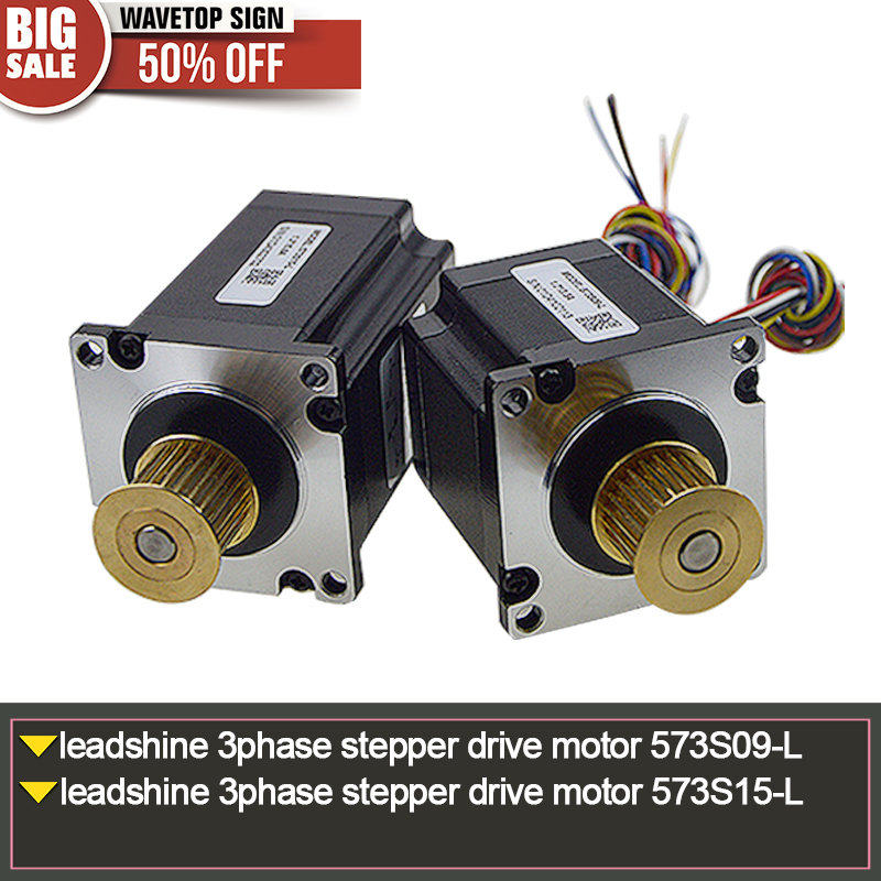 leadshine 3phase stepper drive motor 573S09-L +leadshine 3phase stepper drive motor 573S15-L+ leadshine motor 573S15 motor drive 4 5a 50v single axis stepper motor drive for 42 57 86 stepper motor drive