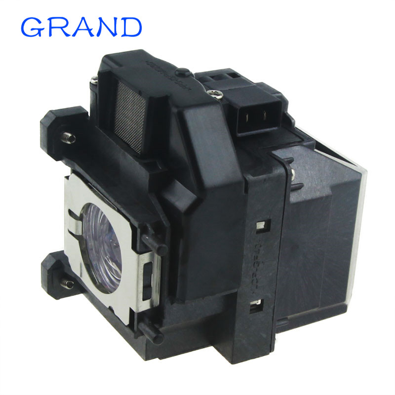 ELPLP67 / V13H010L67 Replacement Projector Lamp with Housing for EPSON EB-S02 / EB-S11 / EB-S12/SXW11 /SXW12 /EB-W02 HAPPY BATE