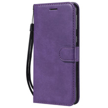 For Samsung Galaxy A20/A30/A50 Case Flip Cover Wallet Stand Pure Color PU Leather Mobile Phone Bags Coque Fundas