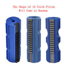 Tactifans SHS Fibre Reinforced Carbon Full Steel 15 Teeth Piston for Airsoft AEG M4 AK G36 MP5 Gearbox Ver 2/3 EBB Airsoft Gun(China)