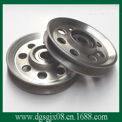 stainless steel pulley/roller/cone pulley m75 750kgs pulley 304 stainless steel roller crown block lifting pulley factory direct sales all kinds of driving pulley