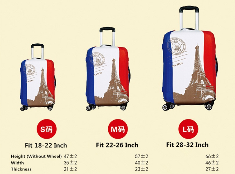 Aliexpress.com : Buy Size L Fit 28 32 inch Suitcase Luggage ...
