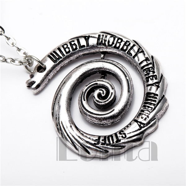 Lolita Doctor Who Whirlpool Pendant Necklace XL569