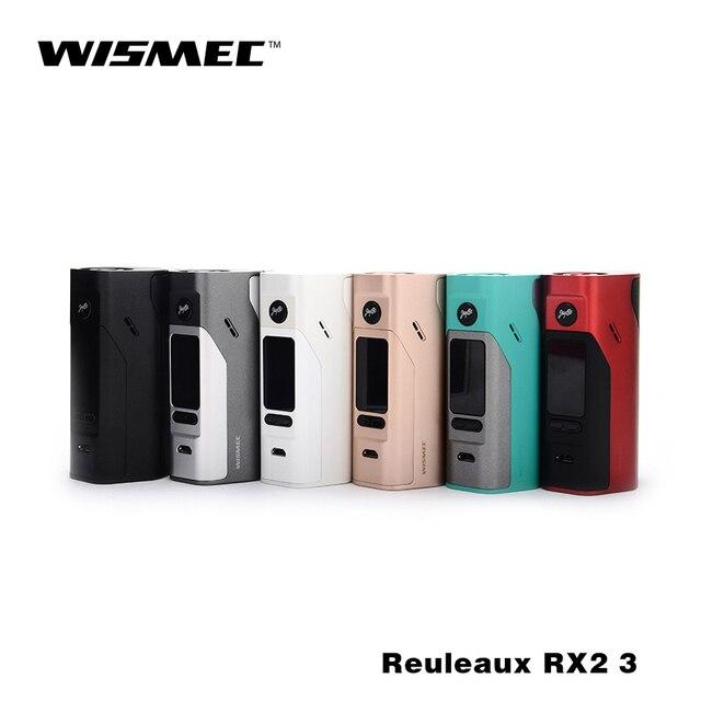 Русский склад в Исходном Wismec Reuleaux RX2/3 Коробка Мод обновляется RX200 150 Вт или 200 Вт Двойная Защита Цепи 18650 коробка мод