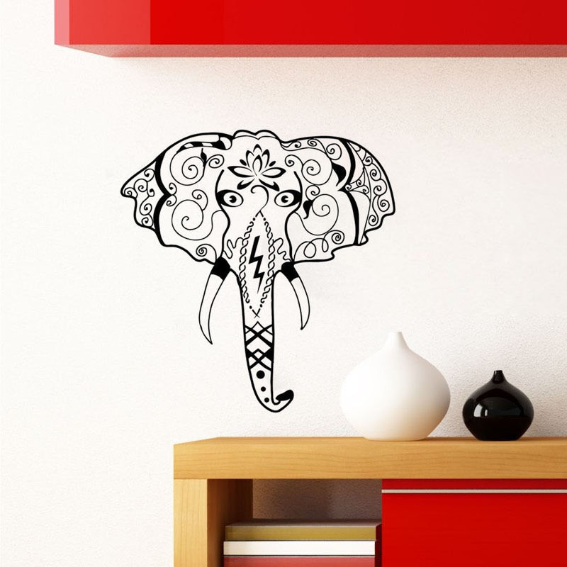 Elephant wall mural promotion shop for promotional for Elephant wall mural
