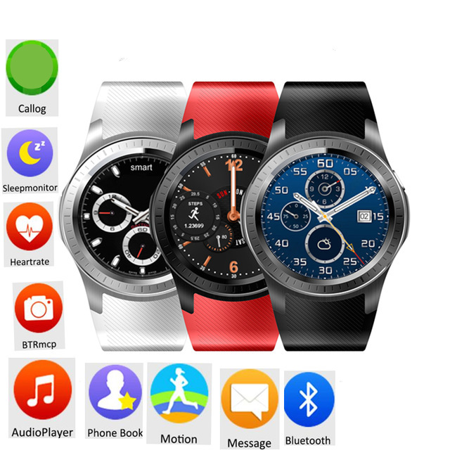 Bluetooth MTK6572 Android Smart Watch GW10 SIM Card Camera Wifi GPS 3G Watch Heart Rate Fitness Tracker For iOS Android pk KW88