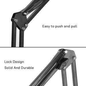 Image 5 - 柔軟な強力な Arm タブレット PC スタンドサポート 4 に 10.6 インチのタブレット画面 360 回転ベッドデスクトップのため iphone アプリ