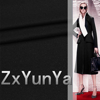 2017 new 148cm wide wool fabric 60% quality wool fine pure black bright wool fabric suit dress coat fabric