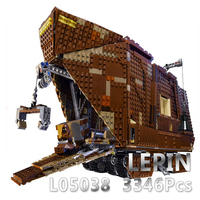 L Совместимость lego Лего Lego Legos Конструктор Строительный блок игрушка L05038 3346 шт Набор моделей зданий Игрушки Хобби Блоки