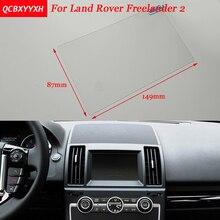 Автомобиль Стикеры 7 дюймов gps навигации Экран Сталь Защитная пленка для Land Rover freelander 2 Управление из ЖК-дисплей Экран автомобиля стиль