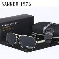 BANNED Cool Men S Polarized Aviation Sunglasses Brand New Male Driving Sun Glasses Fishing Eyewear Oculos
