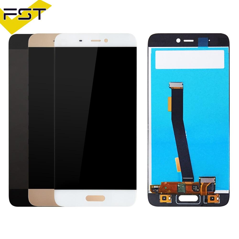 Per Xiaomi Mi5 display LCD + Touch Panel di Ricambio per Xiaomi mi 5 cellulare 5.15 pollici LCD Screen Digitizer di Ricambio parti