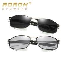 AORON Photochromic Sunglasses Men Polarized Discoloration Goggles Men Driving Glasses Eyewear Accessories Designer 2019 цена