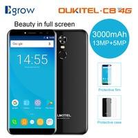 Oukitel C8 4G Mobile Phone 5 5 Inch 18 9 Screen Phone Quad Core 2GB RAM