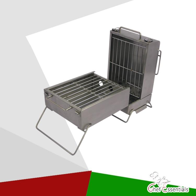 EB-W06 Paslanmaz çelik Kömür BARBEKÜ makinesi / Taşınabilir katlanır ızgara Güvenli ve yüksek kalite
