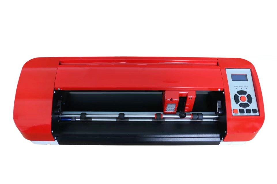 380mm red art mini desktop cutting plotter machine LIW380