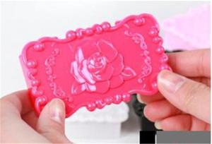 Качественный акриловый прямоугольник, белый/розовый/черный цветок розы, ящик для хранения ресниц, зеркальный кейс, косметический набор для ...