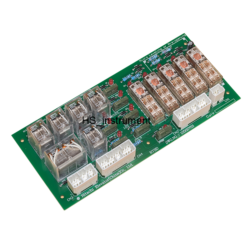 Elevator accessories / RYBD relay board DWG.NO:12502753 elevator micro-leveling control board DWG 12502753 thyssen parts leveling sensor yg 39g1k door zone switch leveling photoelectric sensors