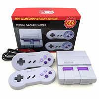 2018 neue Retro Super Classic Game Mini TV 8 Bit Familie TV Videospielkonsole Eingebaute 660 Spiele-handheld-game-spieler Gaming Player Geschenk