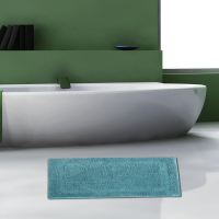 Anti Skid Bathroom Shower Mats Rug Microfiber Coarse Wool Square Bath Mat Rugs Absorbs Water Bathroom