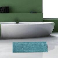 Anti Skid Bathroom Shower Mats Rug Microfiber Coarse Wool Square Bath Mat Rugs Absorbs Water Bathroom