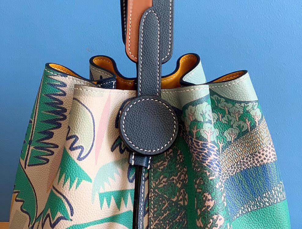 최고의 품질 숙녀 럭셔리 패션 숄더 가방 품질 클래식 100% 가죽 브랜드 유명 숙녀 양동이 가방 전체 매뉴얼-에서숄더 백부터 수화물 & 가방 의  그룹 3