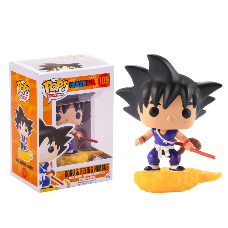 Funko pop Official Amine Dragon Ball Vinyl Action Figure Collectible Model Toy 17