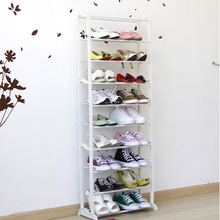 Japanese Style Home Necessities 10 Vertical Combination Shoe Hanger