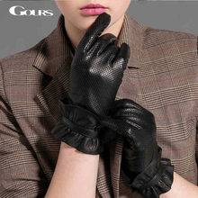 Fashion Goatskin Gloves Leather